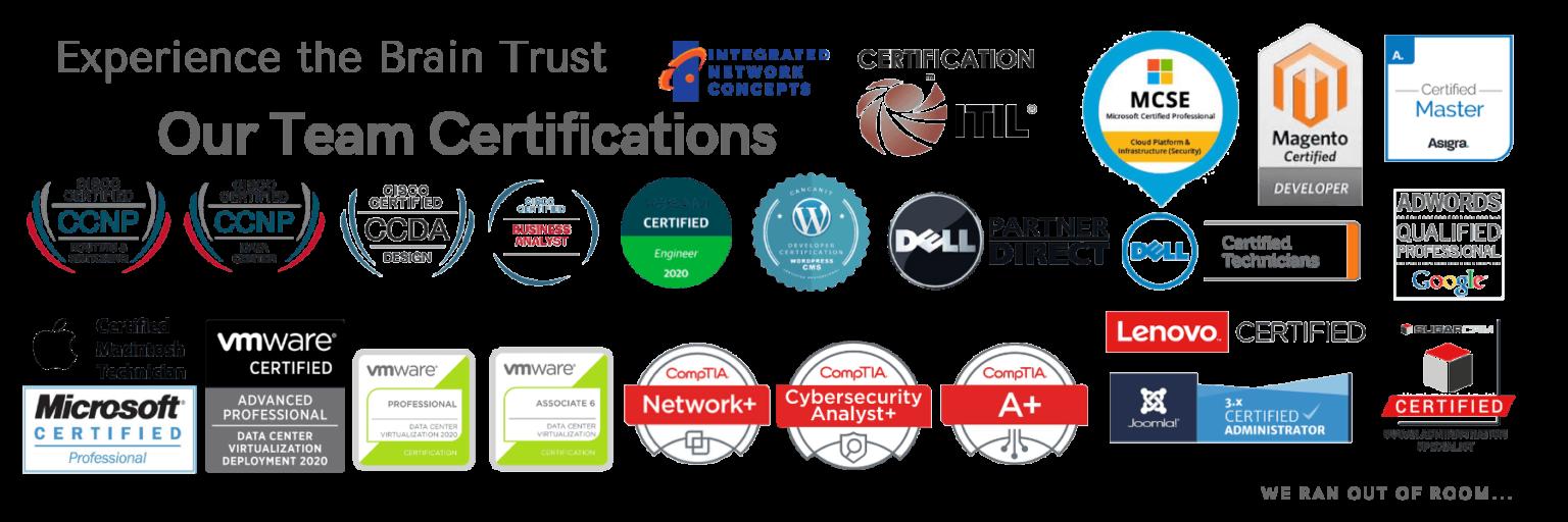 Meraki and Cisco Certifications